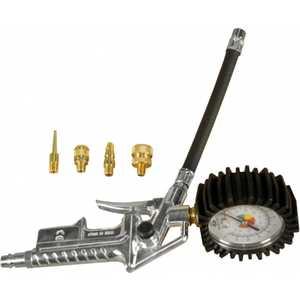 Пистолет для накачки шин Elitech с 4 насадками (0704.000601)