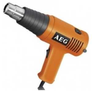 Строительный фен AEG HG600V (441025)  строительный фен aeg hg 560 d