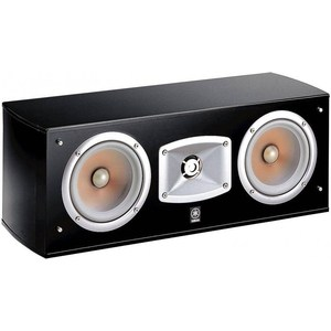 Центральный канал Yamaha NS-C444 black акустика yamaha ns 7390 black