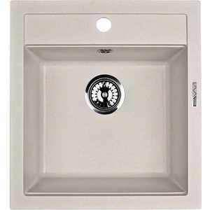 Мойка кухонная Lava Q1 465х505 белый (Q1LAT) laxc021t1b q1