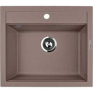 цена Мойка кухонная Lava Q2 560х505 чёрный (Q2BAS)