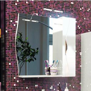 Зеркальный шкаф Edelform Бруно 76 белый (2-675-00-S)  цена и фото
