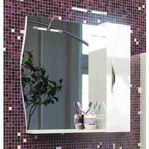 Зеркальный шкаф Edelform Бруно 76 серый (2-675-20-S) цена 2017