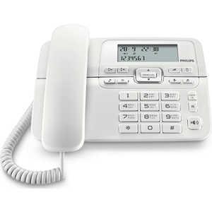 Проводной телефон Philips CRD200W/ 51 белый