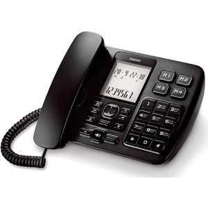 Проводной телефон Philips CRX500B/ 51 черный