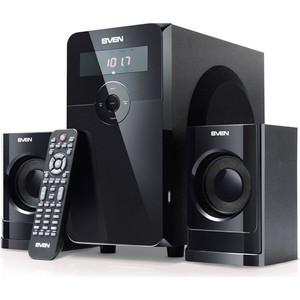 где купить Компьютерные колонки Sven MS-2000 черный дешево