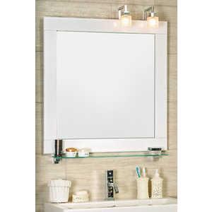 Зеркало Мойдодыр Сорренто 100x80 со светильниками и полкой martika мыльница закрытая мойдодыр с9