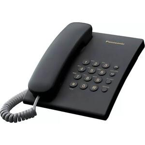 Проводной телефон Panasonic KX-TS2350RUB проводной телефон panasonic kx ts2363 белый kx ts2363ruw