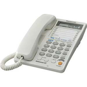 Проводной телефон Panasonic KX-TS2368RUW проводной телефон panasonic kx ts2363 белый kx ts2363ruw