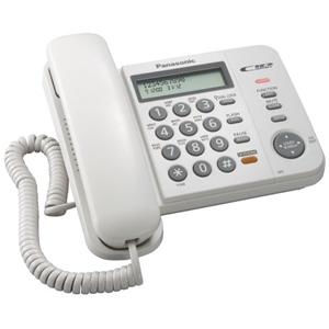 Проводной телефон Panasonic KX-TS2358RUW проводной телефон panasonic kx ts2350rub