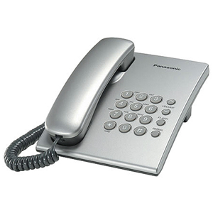 Проводной телефон Panasonic KX-TS2350RUS телефон ip panasonic kx nt553rub черный