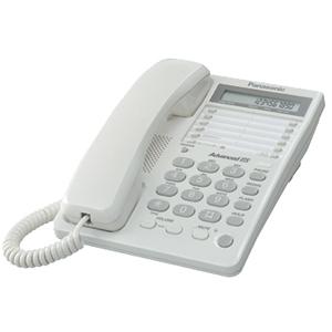 Проводной телефон Panasonic KX-TS2362RUW проводной телефон panasonic kx ts2350rub