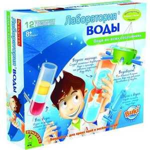 Опыты Bondibon французские Науки с Буки. Лаборатория воды (ВВ0922) bondibon науки с буки домашняя лаборатория bb1215