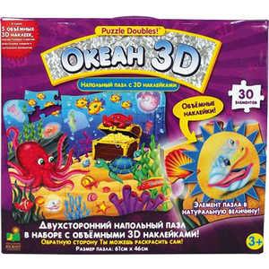 LJ Пазл Океан 3D двухсторонний, в наборе 5 обьемных наклеек 824900