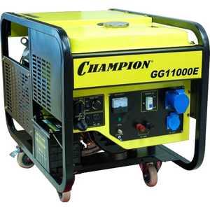 Генератор бензиновый Champion GG11000E газонокосилка бензиновая champion lm5127bs