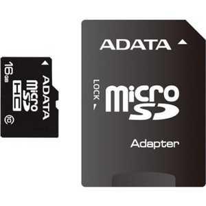 A-Data microSDHC Class 4 (SD адаптер) (AUSDH8GCL4-RA1)