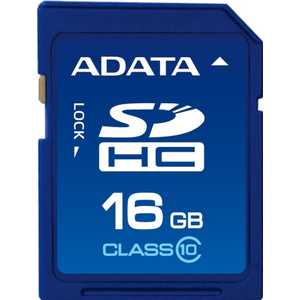 A-Data SDHC Class 10 UHS-I (ASDH16GUICL10-R) adata sdhc premier uhs i class 10 32gb