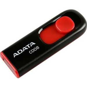 Флеш-диск A-Data 16Gb Classic C008 Черный (AC008-16G-RKD) флеш диск a data 8gb classic c008 белый ac008 8g rwe