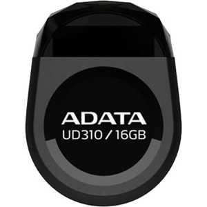 Флеш-диск A-Data 16Gb DashDrive UD310 Черный (AUD310-16G-RBK) флеш диск adata dashdrive ud310 red 32gb aud310 32g rrd