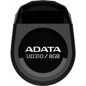 Флеш-диск A-Data 8Gb DashDrive UD310 Черный (AUD310-8G-RBK) флеш диск adata dashdrive ud310 red 32gb aud310 32g rrd