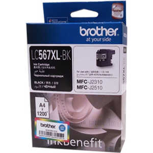 Картридж Brother (LC567XLBK) brother lc985bk