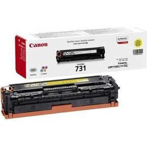 Картридж Canon 731Y (6269B002) картридж для принтера canon 731 cyan