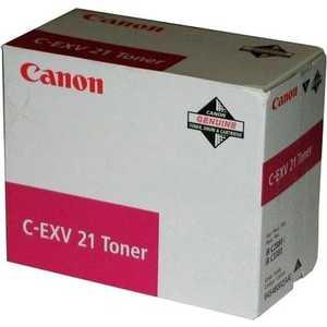Canon Тонер C-EXV21 Magenta (0454B002) тонер картридж canon c exv21 magenta