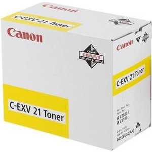 цена на Canon Тонер C-EXV21 Yellow (0455B002)