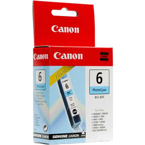 Картридж Canon BCI-6 PhC (4709A002) canon bci 16 color twin pack