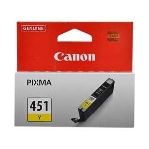цена на Картридж Canon CLI-451 Y (6526B001)