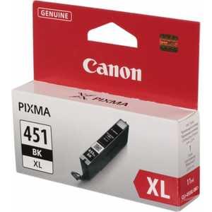 Картридж Canon CLI-451XL BK (6472B001) набор картриджей canon cli 451 c m y bk page 9