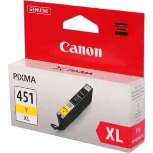 Картридж Canon CLI-451XL Y (6475B001) картридж canon cli 471y xl