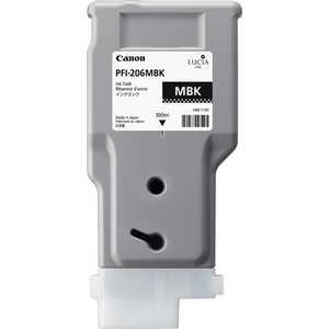 Картридж Canon PFI-206 MBK (5302B001) canon pfi 206 mbk matte black
