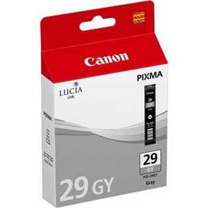 Картридж Canon PGI-29 GY (4871B001)  цена