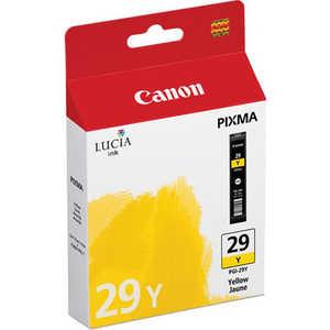 Картридж Canon PGI-29 Y (4875B001) картридж canon pgi 29 lgy 4872b001
