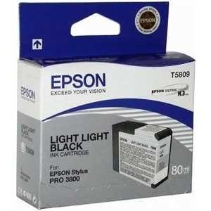 Картридж Epson Stylus Pro 3800 (C13T580900) картридж epson stylus pro 3800 ink cartridge 80ml light light black