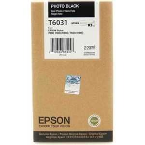 Картридж Epson Stylus Pro 7800/ 9800/ 7880/ 9880 (C13T603100) original new dx5 cap top station for epson stylus pro 7400 7450 7800 7880 9450 9800 9880 inkjet printer ink pump clean unit