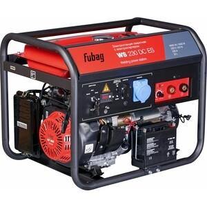 Генератор бензиновый сварочный Fubag WS 230 DC ES электростанция сварочная ws 230 ddc es бензиновая 380 220в