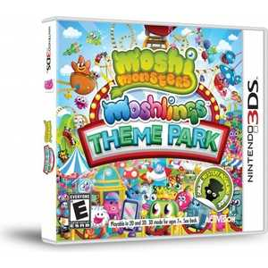 Игра для 3DS  Moshi Monsters 2: Moshling Theme Park (3DS, английская версия)
