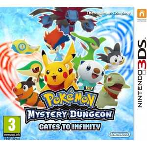 Игра для 3DS  Pokemon Mystery Dungeon: Gates to Infinity (3DS, английская версия)
