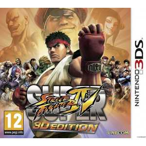 Игра для 3DS  Super Street Fighter IV: 3D Edition (3DS, английская версия)