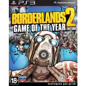 Игра для PS3  Borderlands 2: Game of the Year Edition (PS3, английская версия)