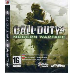 Игра для PS3  Call of Duty: 4 Modern Warfare (PS3, английская версия)