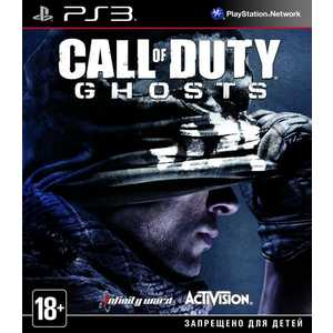 Игра для PS3  Call of Duty: Ghosts (PS3, русская версия)
