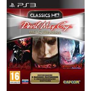 Игра для PS3  Devil May Cry HD Collection (PS3, английская версия)