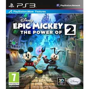 Игра для PS3  Epic Mickey 2: The Power of Two (PS3, английская версия)