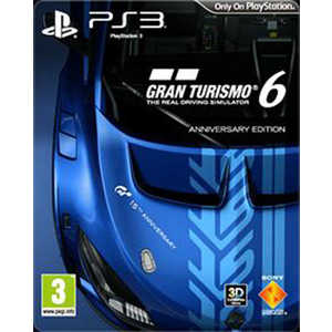 Игра для PS3  Gran Turismo 6 Anniversary Edition (PS3, русская версия)