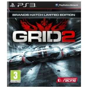 Игра для PS3  GRID 2 Brands Hatch Limited Edition (PS3, английская версия)
