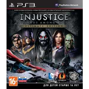 Игра для PS3  Injustice: Gods Among Us Ultimate Edition (PS3, русские субтитры)
