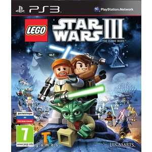 Игра для PS3  LEGO Star Wars III: The Clone Wars (PS3, английская версия)